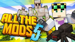 New Series | Minecraft All the Mods 5 - INSTANT MOB FARM #1 (Minecraft Modded)