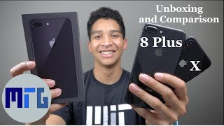 iPhone 8 Plus vs. iPhone X - Space Grey Unboxing and Comparison