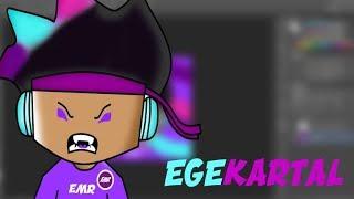 💜 Ege Kartal Speed Art 💜 la imagen de perfil de Roblox 💜