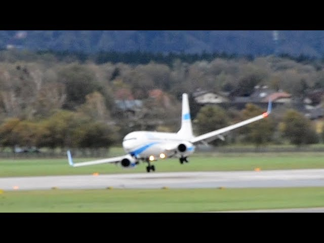How Planes Land in Crazy Crosswinds | WIRED