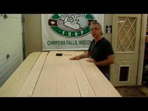 How To Make Solid Oak Panel