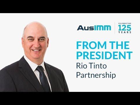 Colin Moorhead - Rio Tinto Partnership Announcement