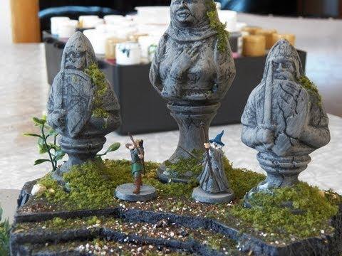 The Weeping Queen Statue Part 2 Miniature Terrain