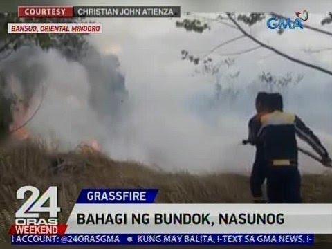 24 Oras: Bahagi ng bundok sa Bansud, Oriental Mindoro, nasunog