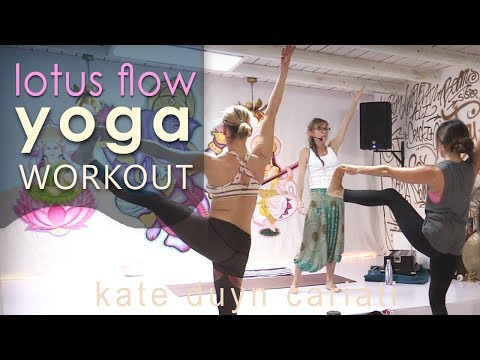 Lotus Flow Yoga Workout