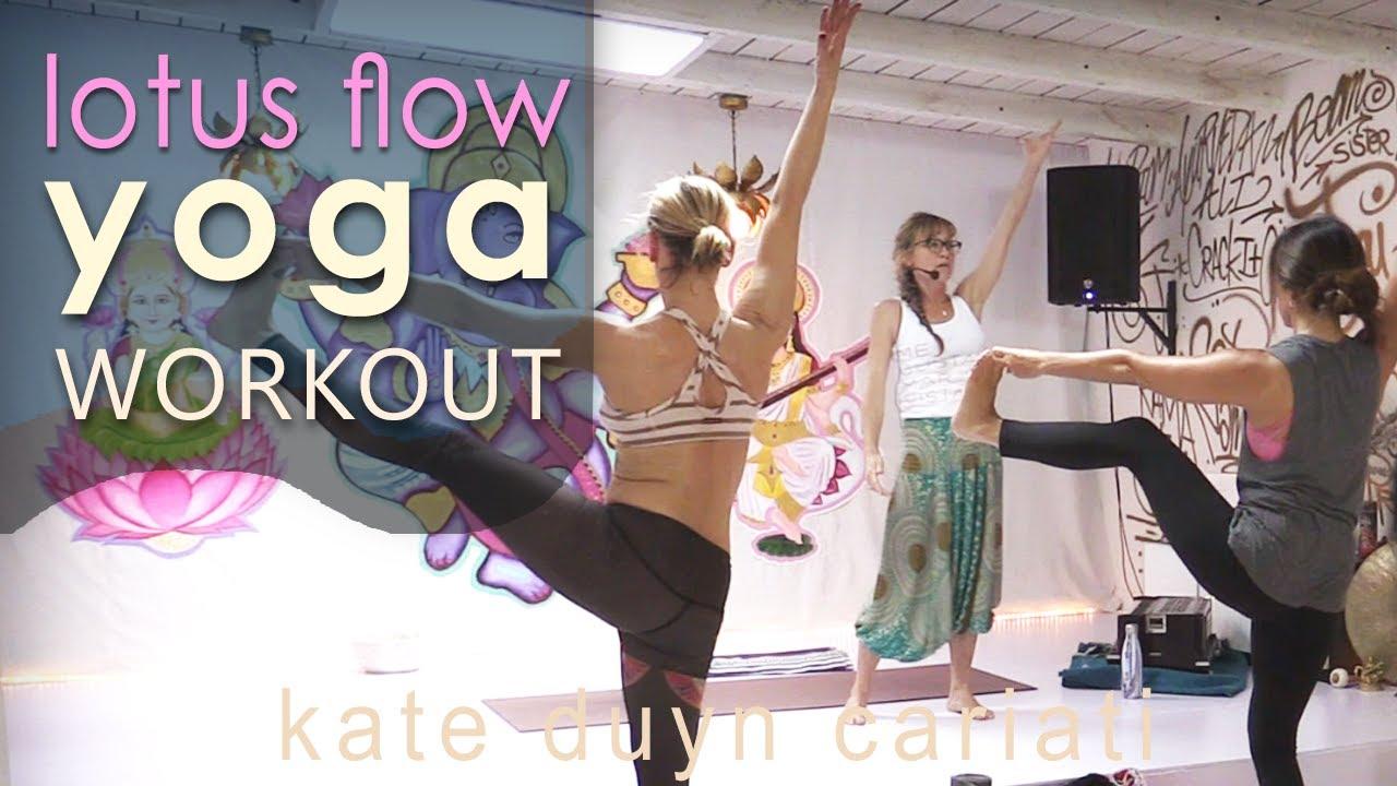 Lotus Flow Yoga Workout Youtube