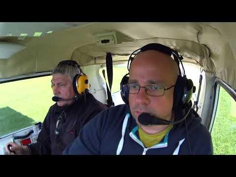 Aeroklub Słupski Lot Cessna po kręgu