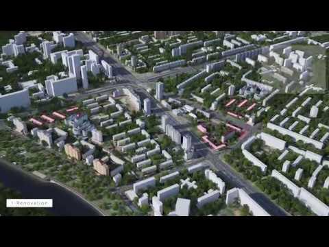 Концепция реновации Хорошево-Мневников от AI Architects