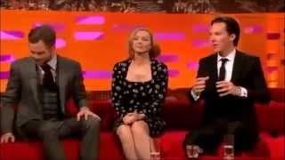 Benedict Cumberbatch 'You Kissed My Bitch!' Graham Norton
