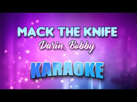 Darin, Bobby - Mack The Knife (Karaoke version with Lyrics)