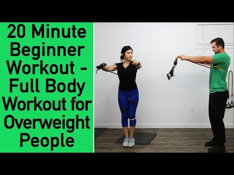 Beginner Resistance Band Workout Workout for Overweight people Low Impact Workout