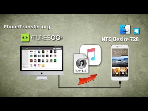 How to Put Music on HTC Desire 728 from Windows & Mac, Import Songs to Desire 728