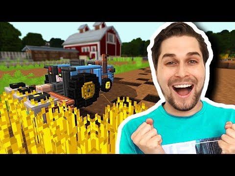 De Ultieme Minecraft Farming Simulator Spelen! 😂 - Minecraft Custom Map thumbnail