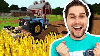 De Ultieme Minecraft Farming Simulator Spelen! 😂 - Minecraft Custom Map