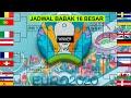 BAGAN JADWAL 16 BESAR PIALA EROPA 2021 LIVE RCTI - UEFA EURO 2020 ROUND OF 16