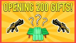 200 LUCKY CHEST OPENING! | Pixel Gun 3D Lucky Chest Opening #1