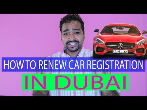 How To Renew Car Registration In Dubai