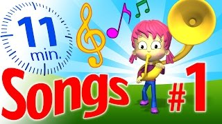 TuTiTu Songs | Songs for Children Collection (with Lyrics) | Vol. 1