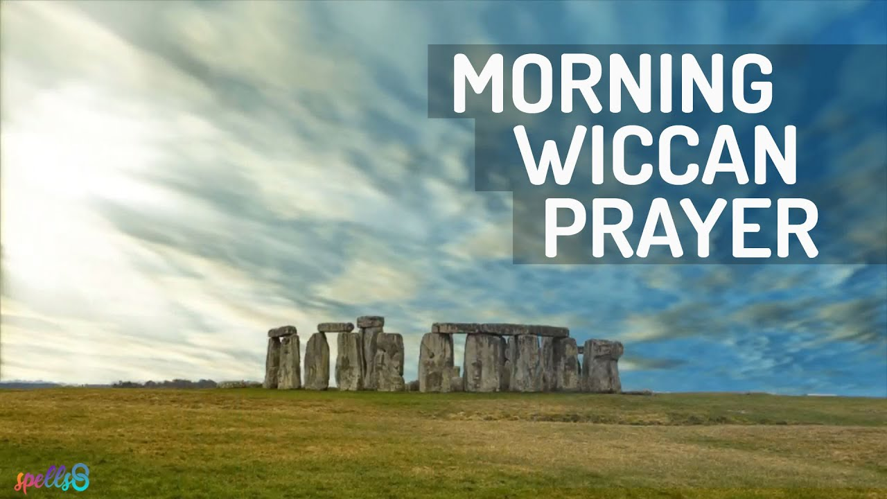 🌄 Morning Wiccan Spell: A Devotional Prayer for Daily Gratitude