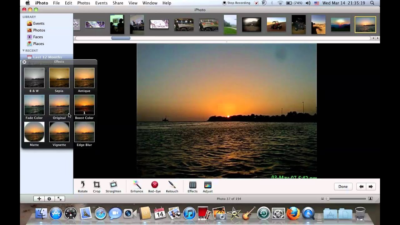 How to edit photos via iphoto in macbooks and imacs youtube how to edit photos via iphoto in macbooks and imacs baditri Images