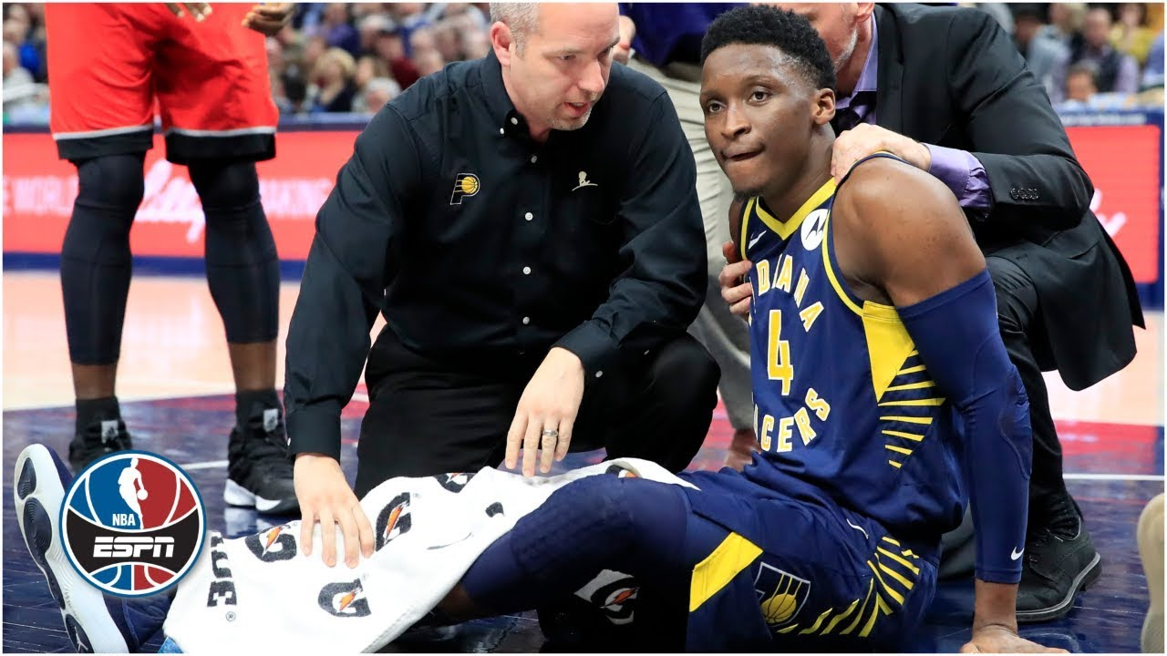Victor Oladipo suffers major leg injury, Pacers hold off Raptors | NBA Highlights