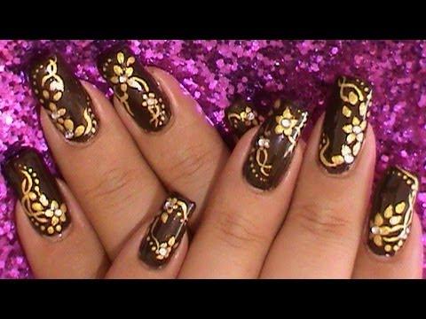 Elegant Fall Nail Art Design Tutorial Autumn Nails