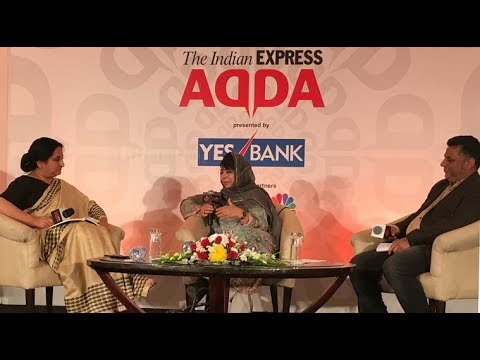 Mehbooba Mufti At Express Adda On Article 370, India's Secular DNA And More
