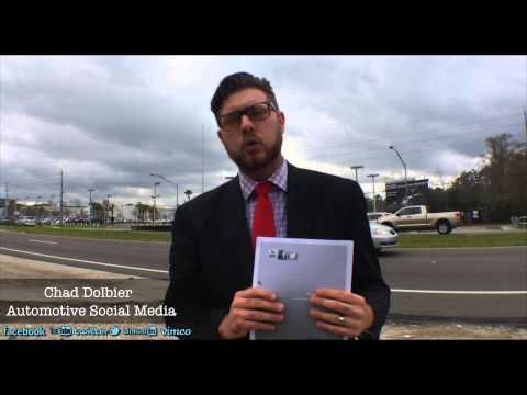 Chad Dolbier Follow Up Response - 2014 Social Media Video Resume | Jacksonville, FL