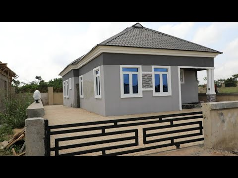 Beautiful 3 Bedroom Fully Detached Bungalow In Happy Life Estate Mowe For N9.5million Only
