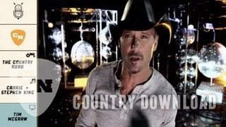 Repeat youtube video Tim McGraw Rocks Those Jeans | Country Download Ep. 1 | Country Now