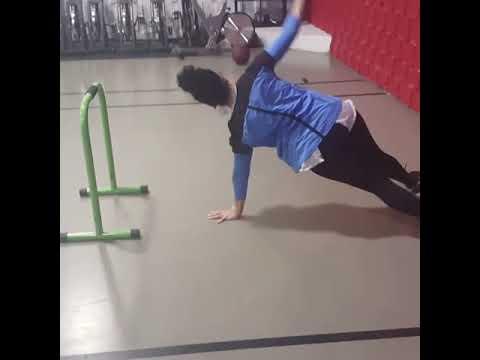 New U Fitness Kensington MD - Carla On The Three Tiered Circuit