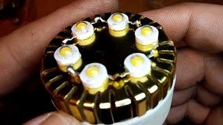 Самодельная светодиодная лампа 6W.(Самодельная светодиодная лампа 6W. ссылка на термоклей http://goo.gl/T0HCgD Ссылка на диоды http://goo.gl/UgMX9k ссылка на..., 2015-01-10T10:55:34.000Z)