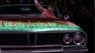 Eddie Guerrero makes his entrance in WWE