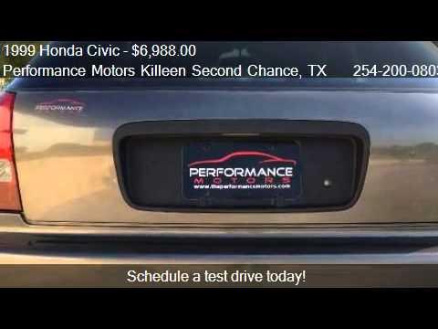 1999 Honda Civic Dx Hatchback For Sale In Killeen Tx 7654