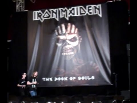 Iron Maiden The Book of Souls listening party! – Slayer single – TDEP interview – COB's Alexi
