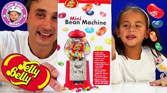 Jelly Belly Beans Machine Mini - Spender für Geleebohnen - Test Review - Kinderkanal