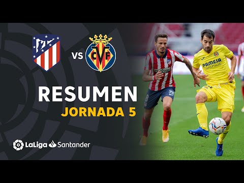 Atletico Madrid Villarreal Goals And Highlights