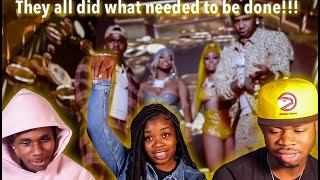 Moneybagg Yo – Said Sum Remix feat. City Girls, DaBaby [Official Music Video] | REACTION