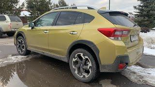 Взял Subaru XV 2021 на трассу, хотя не планировал