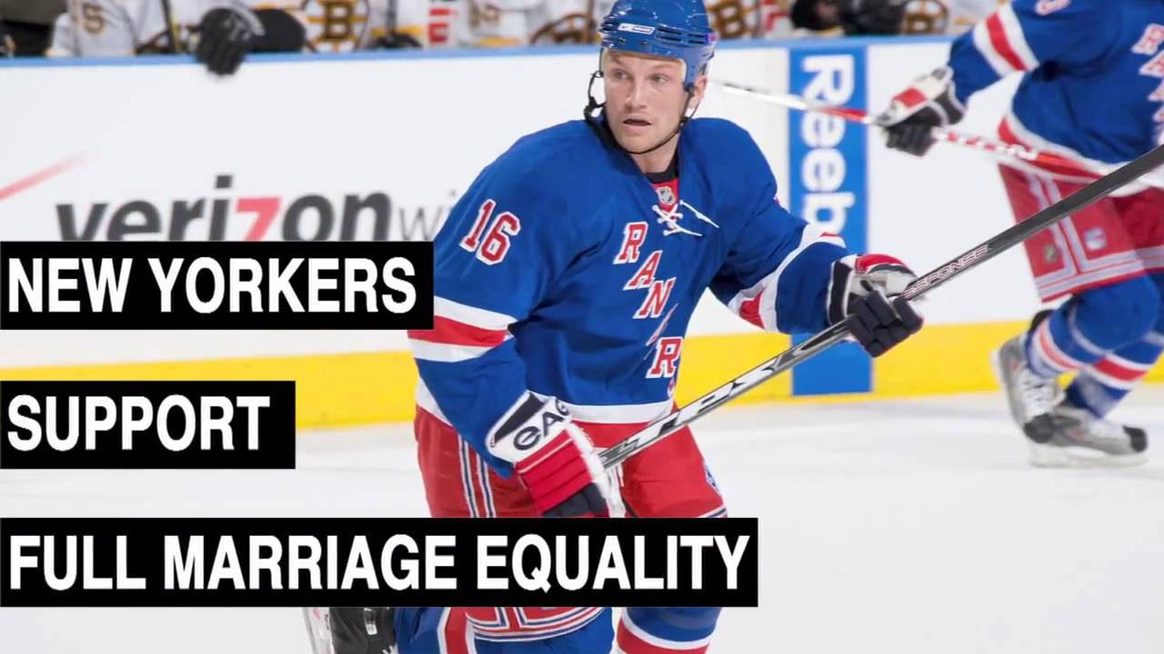Sean Avery Records Psa In Support Of Gay Marriage Gothamist