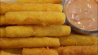 How To Make Fried Corn Meal Sticks Receipe (sorullitos De Maíz)