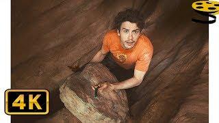Камень прижимает руку Арону Ралстону | 127 часов (2010) HD