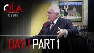 Day 1 Part 1 | October 2018 | Dan Peña QLA Castle Seminar