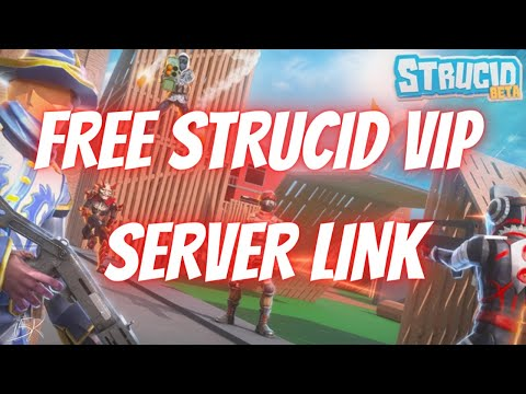 *FREE* STRUCID VIP SERVER LINK (2020)