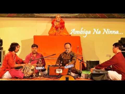 """""""Ambiga Na Ninna"""" by Puttur Narasimha Nayak"""