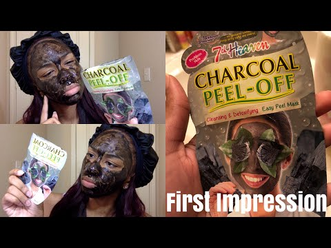 MASK OFF | FIRST IMPRESSION | 7th Heaven Charcoal Peel Off Mask | x_incredibleL