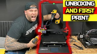 Unboxing the new Creality CR-10s Pro V2 3D Printer