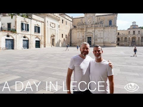A Day in Lecce (4K) / Italy Travel Vlog #224 / The Way We Saw It