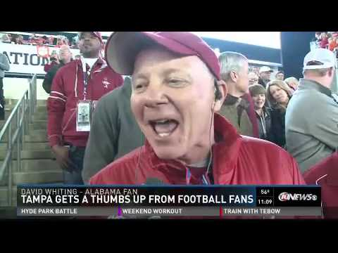 College Football National Championship Clemson vs. Alabama 2017 Tampa, FL