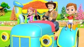 У старого Макдональда была ферма | старый макдональд | Песни Для Детей | Old MacDonald Had A Farm